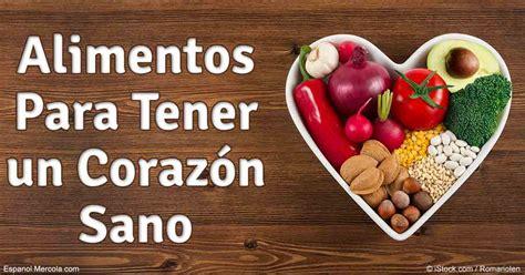 imagenes de corazones saludables que comer para tener un coraz 243 n m 225 s sano