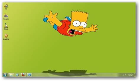 cartoons themes for windows 7 the simpsons windows 7 theme
