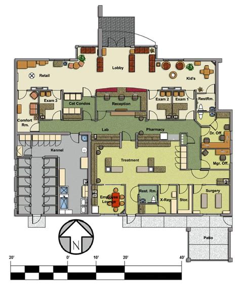 veterinary floor plans veterinary floor plan pet paradise animal hospital