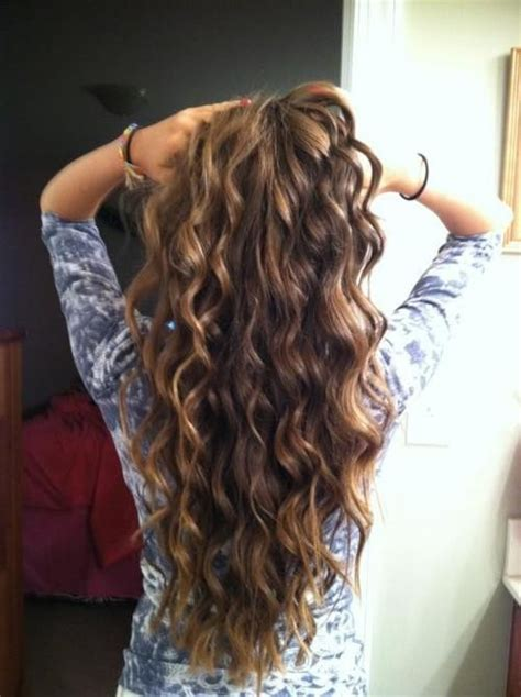 wand curls hair love pinterest wand curls long hair dont care pinterest wand