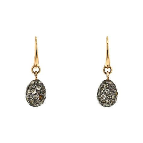 pomellato earrings pomellato tabou earring 335694 collector square
