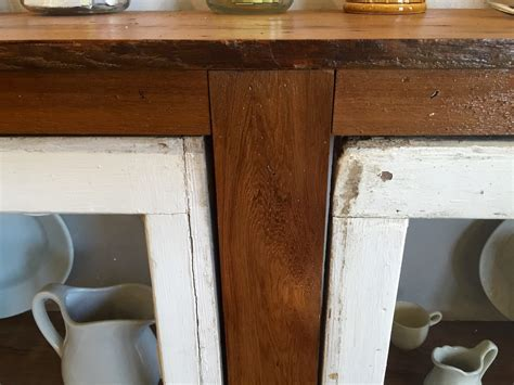 Remodelaholic   How to Build a Buffet from Old Windows and