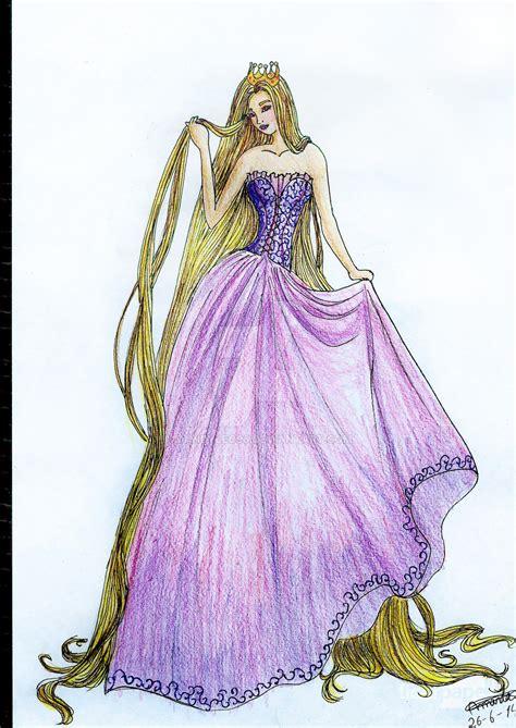 fashion illustration rapunzel fashion illustration high couture rapunzel by mandyleo96