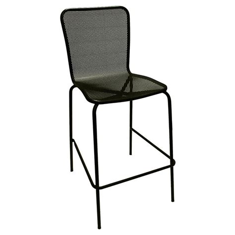 restaurant outdoor bar stools american tables and seating 92 bs black mesh outdoor bar stool