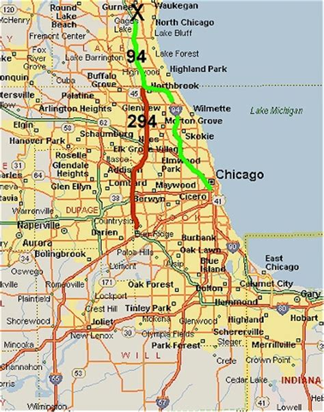 us map chicago illinois chicago map and chicago satellite image