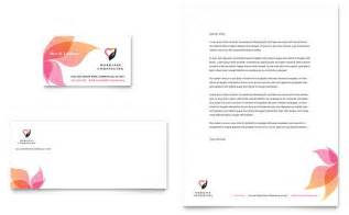 marriage counseling business card amp letterhead template design