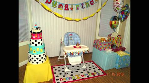 baby birthday decoration ideas