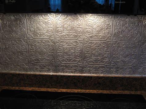 7 best images about paintable wallpaper backsplash on fake it frugal fake punched tin backsplash