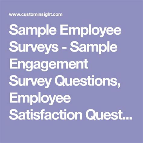 Happy Friday Survey Feedback by 25 Best Ideas About Employee Satisfaction Survey On