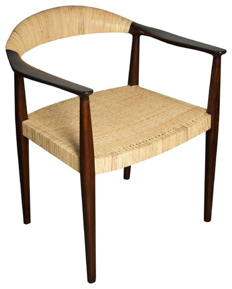 beale chair tropical dining chairs  noir