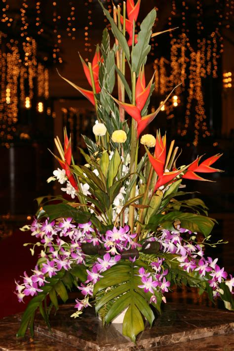 Christmas Party Centerpiece - flower arrangements in hotel kuala lumpur malaysia flickr