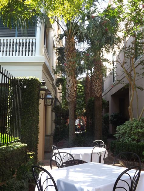 Planters Hotel Charleston Sc by Planters Inn Courtyard Charleston Sc Travel