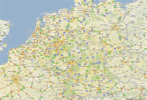 germany map detailed maps of germany where is the germany germany regions map