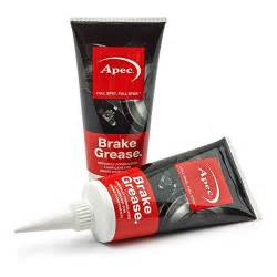 Brake System Grease Apec Brake Grease Abs Compatible Squeal Lubricant Pads Car
