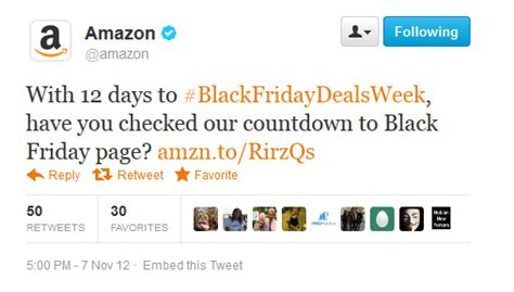 amazon twitter ecommerce eye candy mobile and social trends in holiday