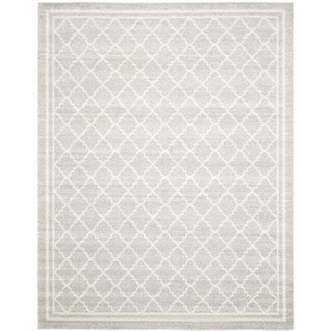10 x 14 outdoor area rugs safavieh amherst light gray beige 10 ft x 14 ft indoor outdoor area rug amt422b 10 the home