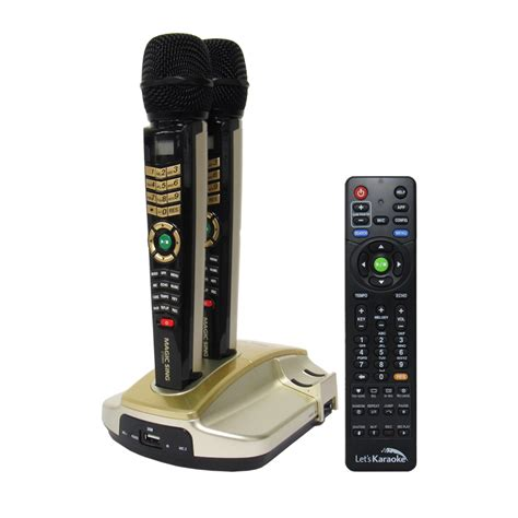 entertech magicsing et 23kh hd microphone karaoke system