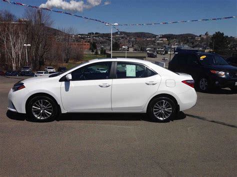 2015 Toyota Corolla Le Used 2015 Toyota Corolla Le To Sale For 21 In Edmundston