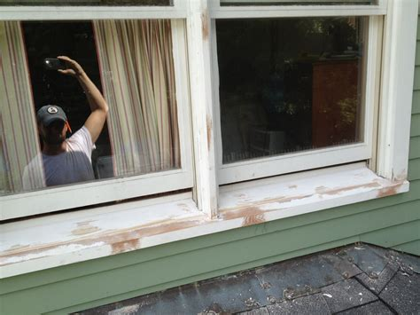 Replace Window Sill Outside Window Sill And Trim Replacement Jkranz Carpentry