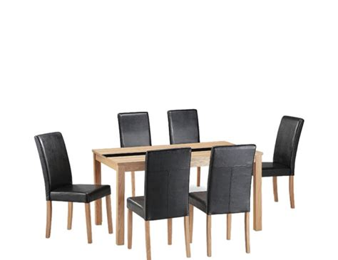 brisbane ash large dining table and chairs 7 day express