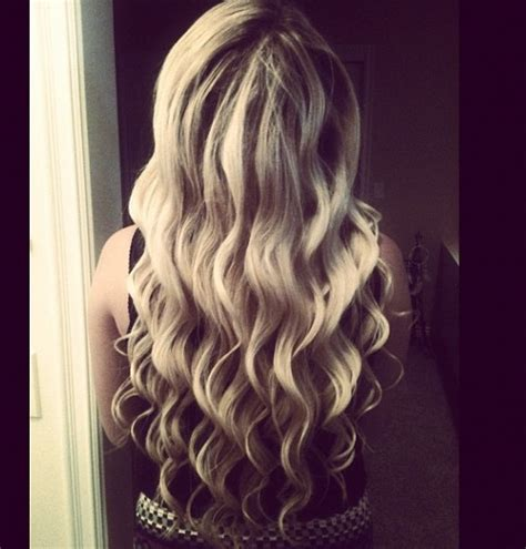 wand curls hair love pinterest wand curled hair this is how i want it to look you