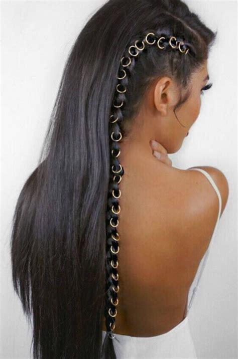 hairstyles on pinterest 285 pins beaded hair rings inkspiration pinterest hair rings