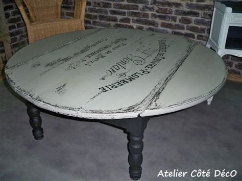 Relooker Une Table Ronde by Table Ronde Atelier C 244 T 233 D 233 Co