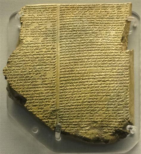 gilgamesh flood myth wikipedia file library of ashurbanipal the flood tablet jpg