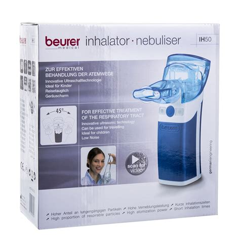 Beurer Inhalator Nebuliser Ih 50 beurer ih50 nebulizer inhaler respiratory pocket portable