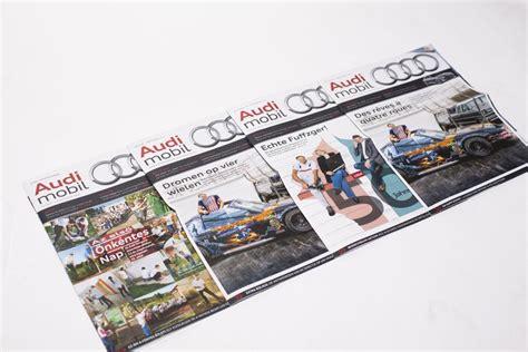 Audi Mitarbeiterportal by Audi Macht Mobil Magazin Pressesprecher