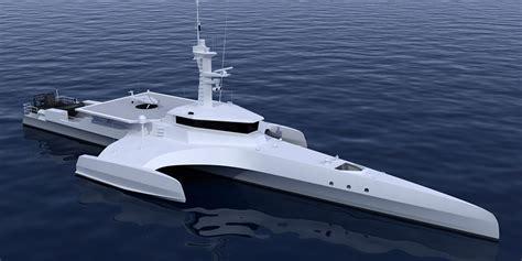 trimaran ship ocean eagle video sea trials nigel irens design
