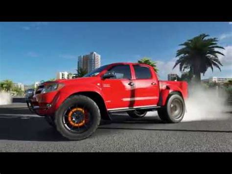 toyota owns toyota hilux owns drift meet forza horizon 3