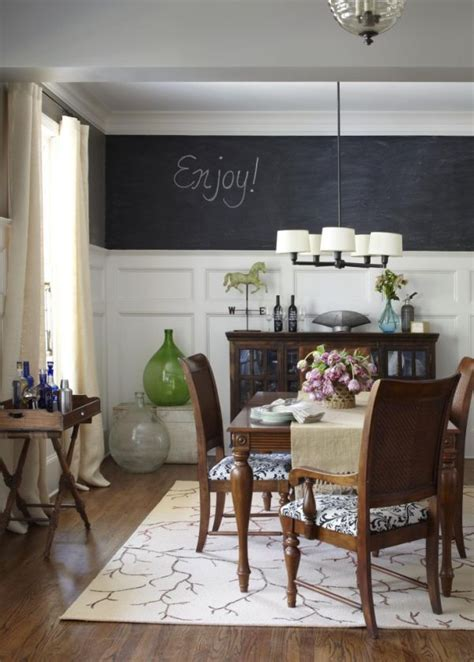 dining room chalkboard how to creatively use chalkboard paint around the house
