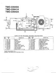 wiring diagram diagram amp parts list for model 33940a mtd