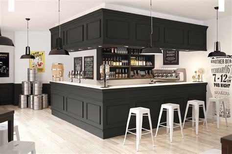 agencement bar comptoir comptoir de bar nero britannia