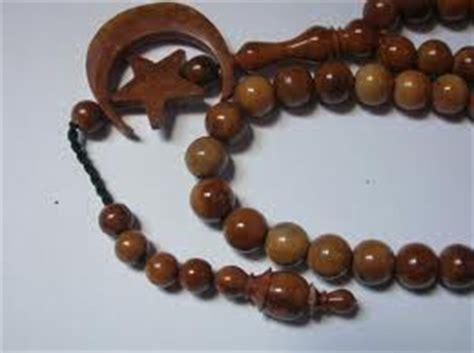 Tasbih Kokka Kaukah 99 Bulan Terompah Coklat kayu kokka kaukah asli tasbih kayu kokka kaukah asli
