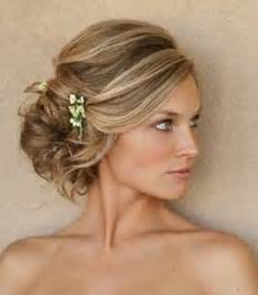 side swipe updo hairstyles unforgettable wedding hair types side pinkous