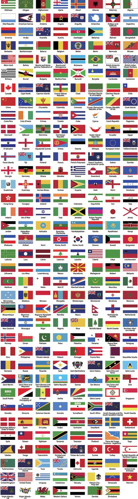 flags of the world vector free world flags vector vector download