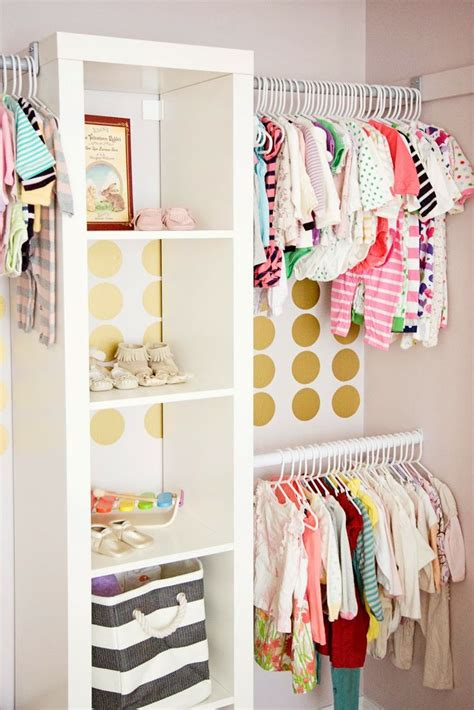 Nursery Wardrobe Closet by Organizing The Baby S Closet Easy Ideas Tips