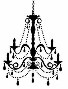 chandelier silhouette doodlecraft freebies week chandelier silhouettes