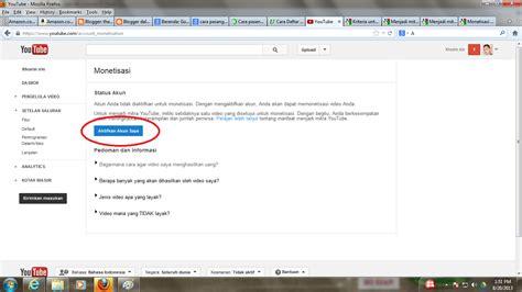 adsense google youtube cara memasang google adsense di youtube tips dan trik