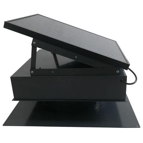 remington solar attic fan remington solar 25 watt 1450 cfm black solar powered attic
