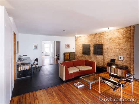 Nyc One Bedroom Apartments by New York Apartment 1 Bedroom Loft Apartment Rental In