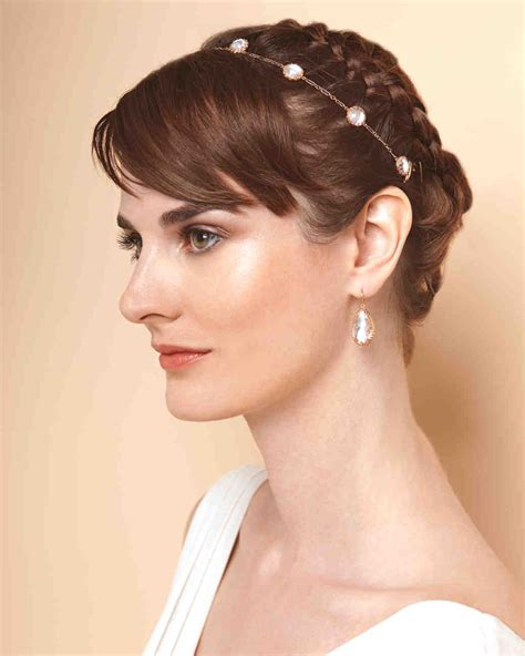 hair styles with rhinestones 4 ways to wear a short hairstyle on your wedding day