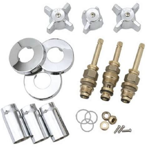 Sterling Shower Faucet Parts tub shower faucet rebuild kit for sterling rockwell chrome model sk0336 true value