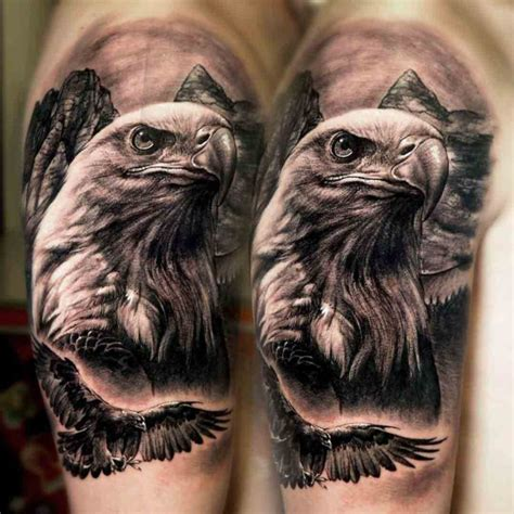 52 eagle shoulder tattoos ideas and meanings