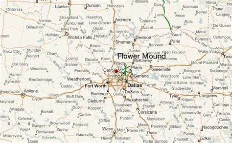 flower mound location guide