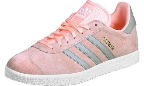 adidas gazelle og w shoes pink grey
