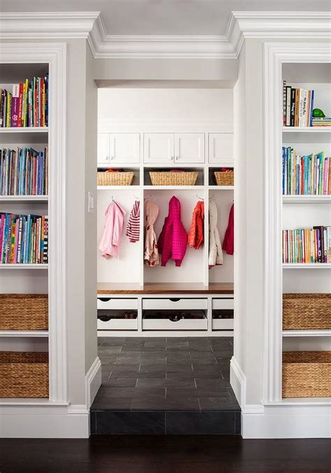 mudroom organizer mudroom with pull out shoe drawers transitional