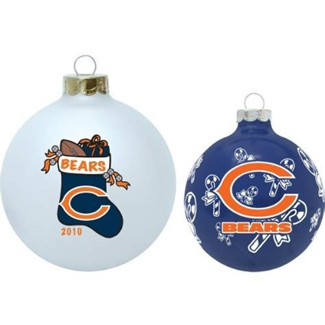 Chicago Bears Ornaments - nfl chicago bears collectible and traditional ornament set